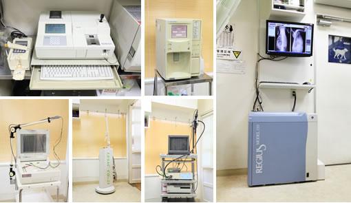 各種医療機材写真